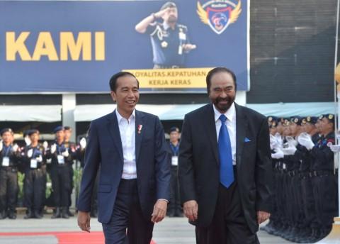 Surya Paloh Beri Wejangan untuk Jokowi