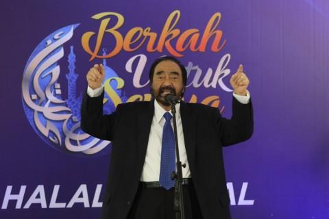 Surya Paloh Hormati Keinginan Cak Imin Jadi Ketua MPR