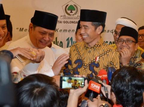Jokowi Menunjukkan Kepedulian Terhadap Golkar