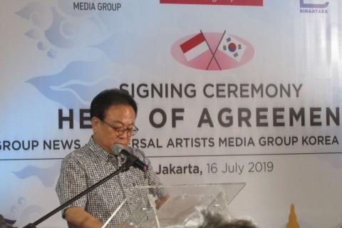 Media Group Jalin Kerjasama dengan Pihak Korea Selatan Bidik Pasar Hiburan di Indonesia