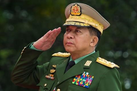 Kepala Militer Myanmar Dilarang Masuk ke AS