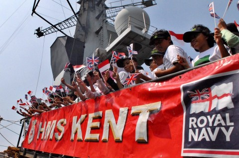 Inggris akan Kirim Kapal Perang Ketiga ke Teluk Arab
