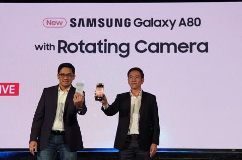 Samsung Bawa Galaxy A80 ke Indonesia, Harga Rp9 Juta