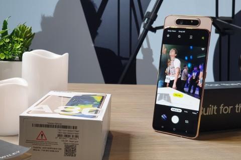 Pakai Modul Putar, Bagaimana Daya Tahan Kamera Samsung Galaxy A80?