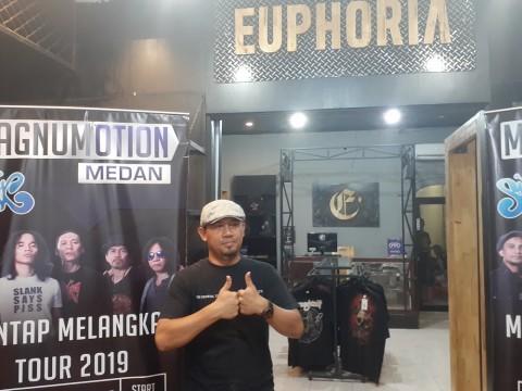 Usaha Euphoria Menjaga Komunitas Musik Keras di Medan