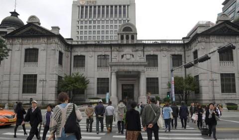 Bank Sentral Korea Pangkas Suku Bunga Acuan