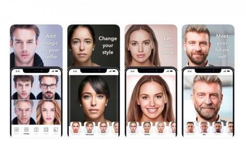 FaceApp Kini Punya Akses ke Lebih dari 150 Juta Wajah dan Nama