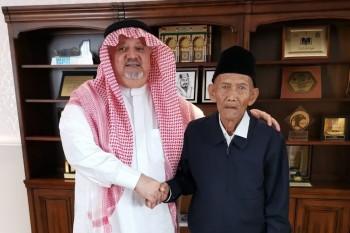 Kakek 94 Tahun Diundang Ibadah Haji oleh Raja Salman