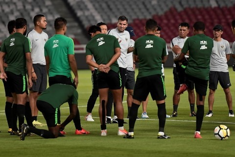 Respons Pelatih Simon McMenemy Usai Undian Kualifikasi Piala Dunia 2022
