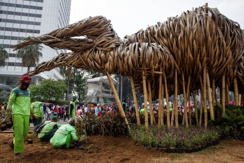 Warga Sayangkan Pembongkaran Bambu Getah Getih
