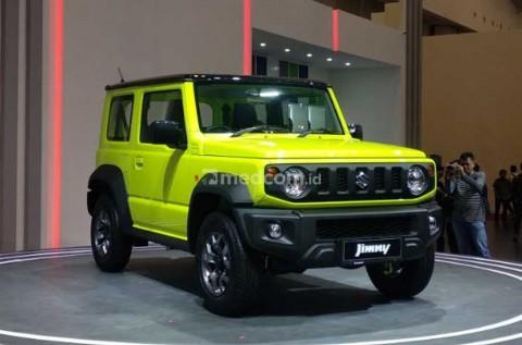Suzuki Jimny Generasi Keempat Resmi Mengaspal