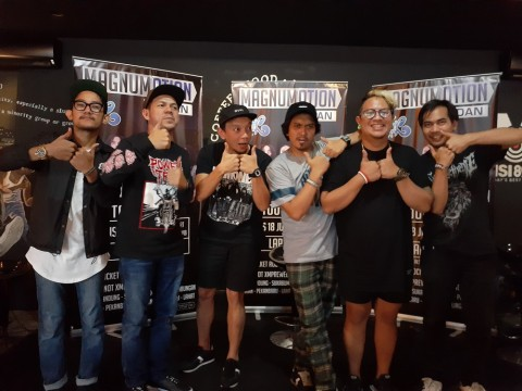 Slank dan Rocket Rockers Siap Puaskan Penggemar di Konser Magnumotion Medan