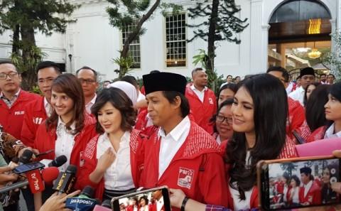 PSI Bahas WNI Korban Perdagangan Manusia ke Jokowi