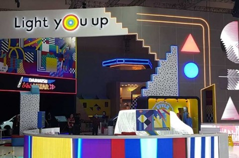 Daihatsu Bikin Playground Generasi Milenial di Lapak Ekshibisi GIIAS