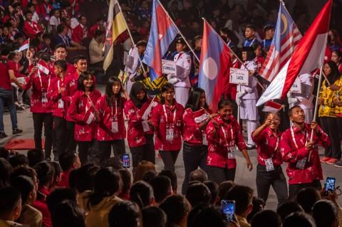 Kemeriahan Pembukaan ASEAN Schools Games 2019