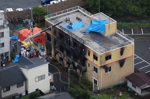 Gedung Kyoto Animation Jepang Dibakar, 33 Tewas