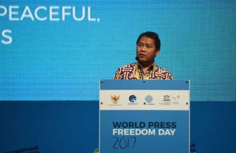 Indonesia Aktif Mengampanyekan Perlindungan Insan Pers