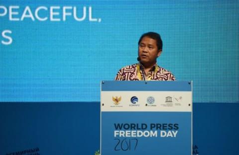 Indonesia Ikut Rancang Aturan Internasional Kebebasan Media