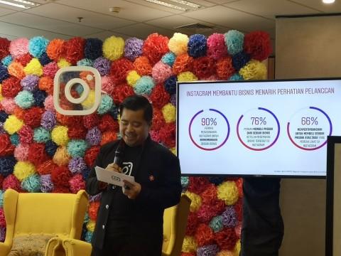 Instagram: Jumlah Pengguna Akun Bisnis di Indonesia Masuk 5 Besar