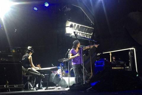 Slank Manjakan Slankers di Magnumotion Tour - Medan