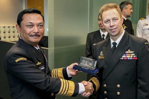 Pemimpin Angkatan Laut RI-Australia Bertemu Bahas Kerja Sama Maritim
