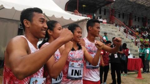 Atlet Atletik Indonesia Sumbang Tiga Medali Emas ASG 2019
