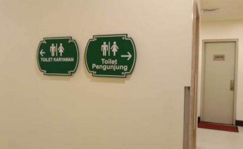 Menengok Toilet Khusus Ojek Online Mal Puri Indah