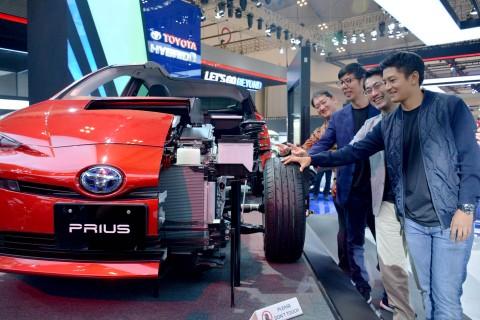 Toyota Target Hilangkan CO2 di 2050