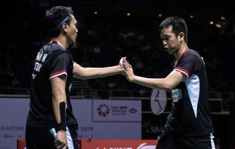 Indonesia Open 2019: Ahsan/Hendra Melaju ke Final