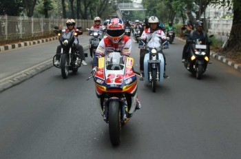 Sam Lowes Girang Rolling City di Jakarta