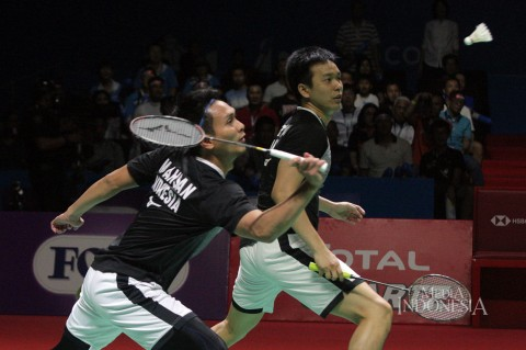Ahsan/Hendra ke Final Indonesia Open