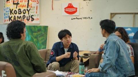 Gemari The Panasdalam, Bisma Karisma Antusias Bintangi Film Koboy Kampus