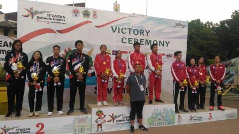 Tim Renang Indonesia Koleksi Empat Medali Emas di Hari Kedua ASG 2019