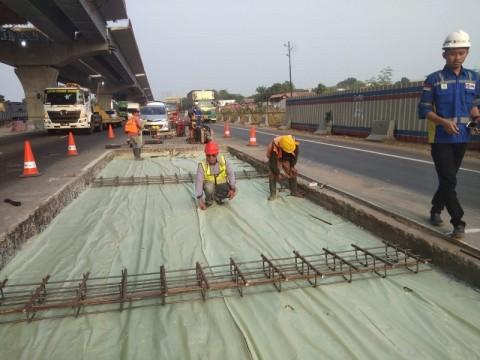 Jasa Marga Lakukan Rekonstruksi Jalan Tol Japek