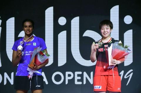 Akane Yamaguchi Juara Tunggal Putri Indonesia Open