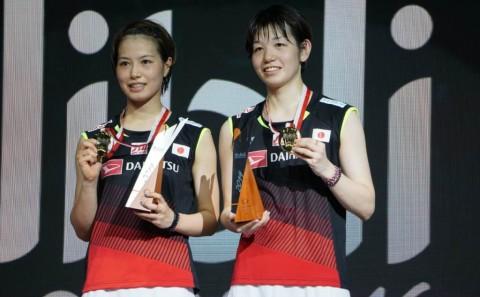 Fukushima/Hirota Pertahankan Gelar Indonesia Open