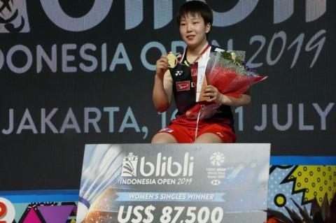 Akane Yamaguchi Juara Tunggal Putri Indonesia Open 2019