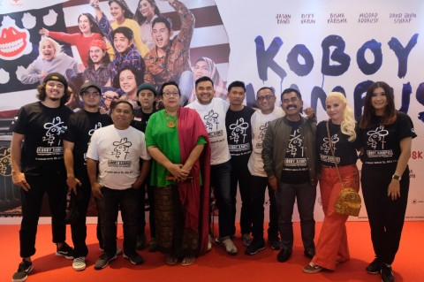 Ricky Harun Bangga Syuting Bareng Pidi Baiq di Film Koboy Kampus