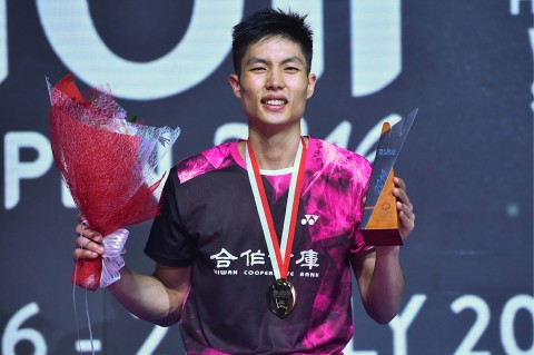 Indonesia Open, Tunggal Putra Direbut Chou Tien Chen