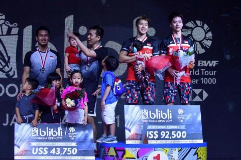 The Minions Pertahankan Gelar Indonesia Open