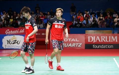 Marcus/Kevin Mengaku Hoki Menang di Final
