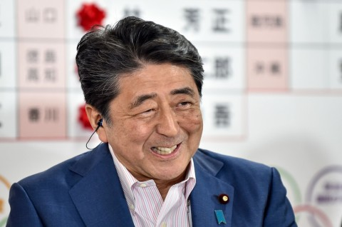 PM Abe Klaim Kemenangan di Pemilu Majelis Tinggi Jepang