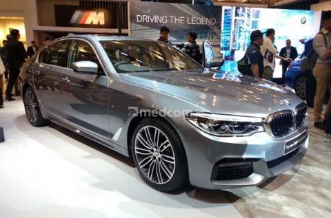 Mejeng di GIIAS, BMW Seri 5 Anyar Incar Konsumen Mapan