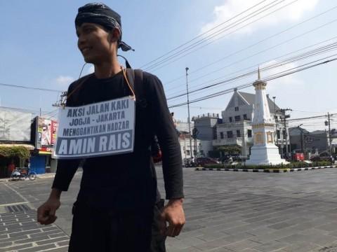 Nazar Amien Rais Berjalan Kaki ke Jakarta Diwakilkan