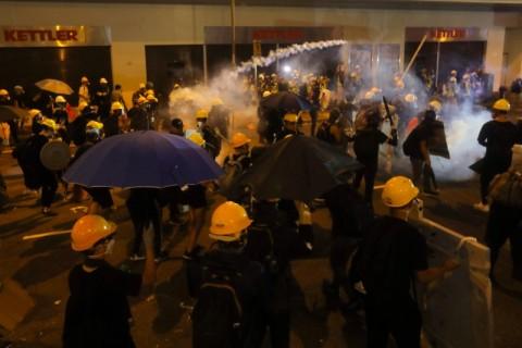 Tiongkok Tegaskan Rusuh Pedemo Hong Kong Tak dapat Ditoleransi