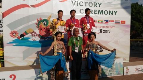 Indonesia Sabet Empat Medali Emas di Pertandingan Renang Terakhir ASG 2019