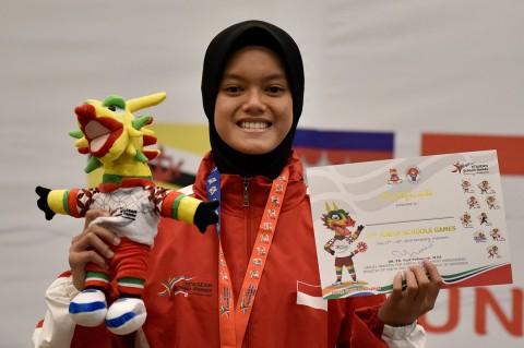 Kurnia Fatma Raih Emas Pencak Silat Putri ASG 2019