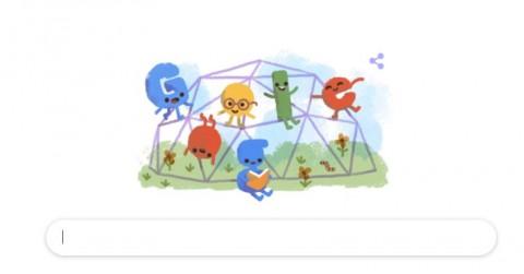 Google Doodle Rayakan Hari Anak