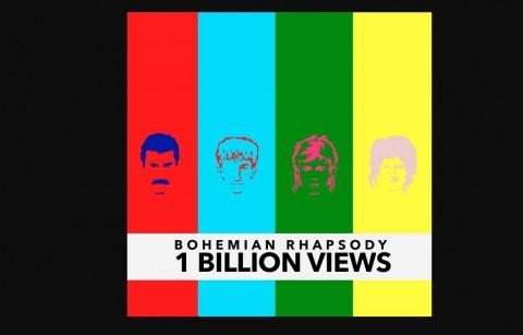 Ditonton 1 Miliar Kali, Bohemian Rhapsody Jadi Video Lama Terpopuler