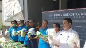 BNN Menyita 81 Kg Sabu